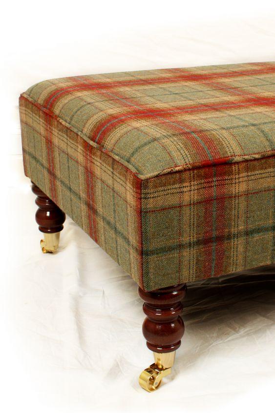 Footstools & Ottomans - Just Fabrics Foot Stool