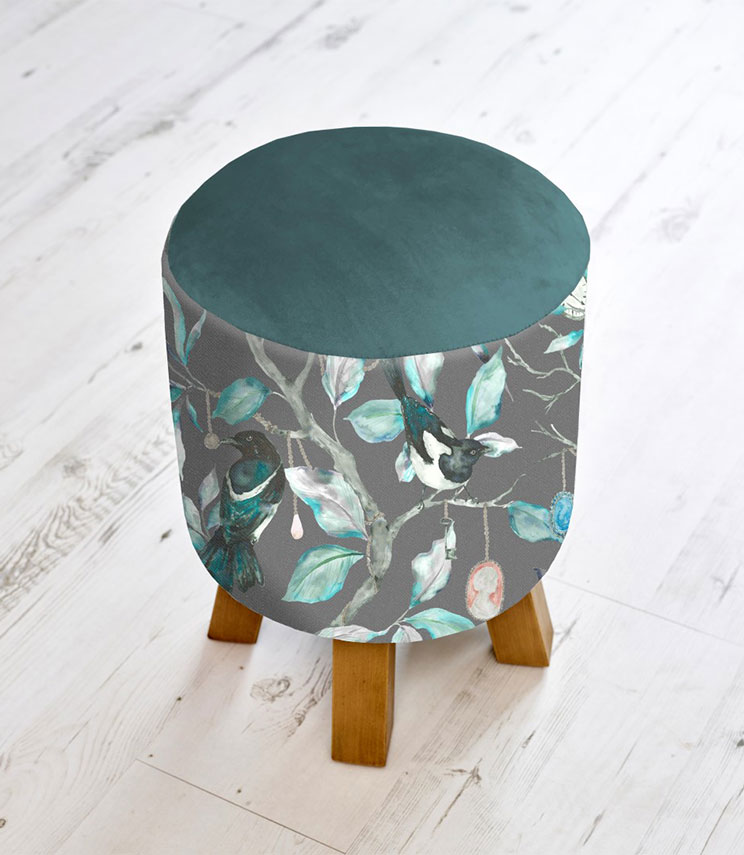 Footstools & Ottomans - Collector Onyx Monty