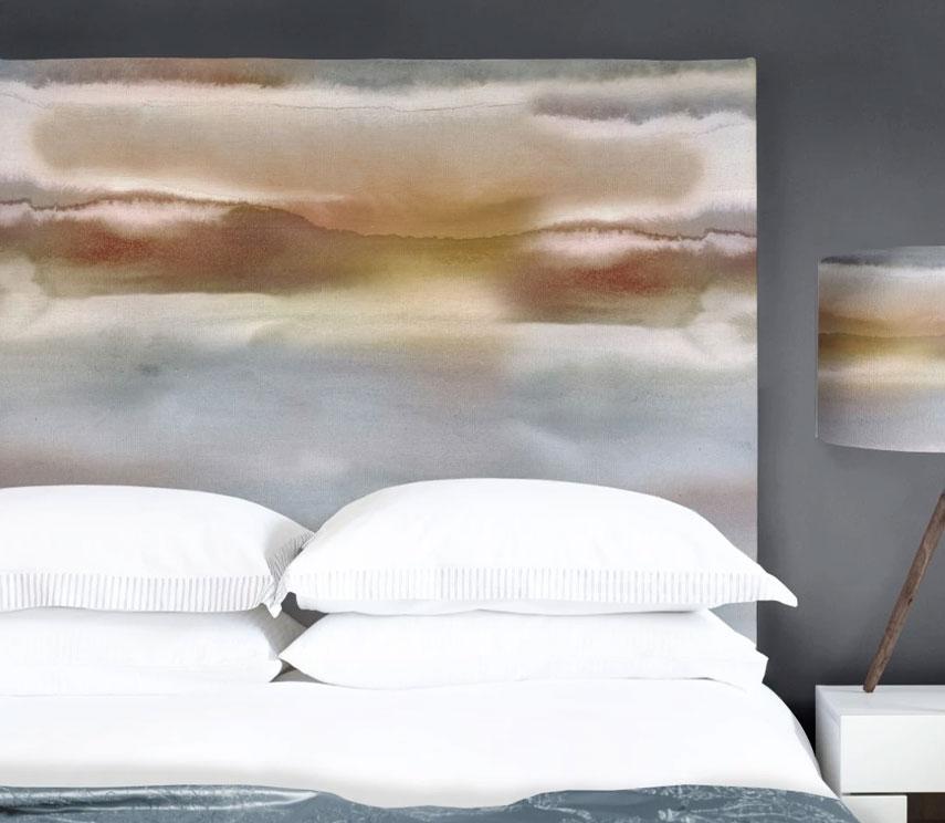 Art Panel Headboards - Fjord Misty Morning