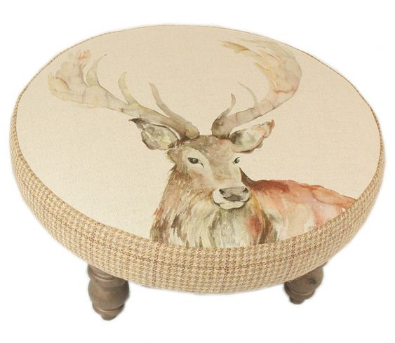 Footstools & Ottomans - Stag Cato Footstool