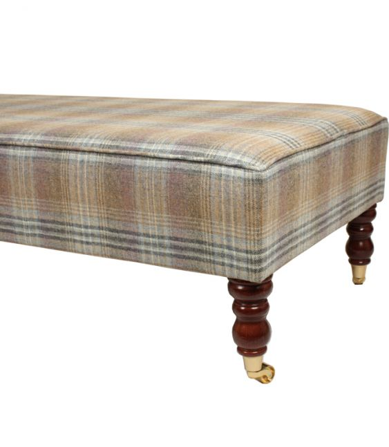Footstools & Ottomans - Just Fabrics Footstool