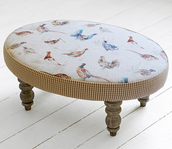 Footstools & Ottomans - Gamebrids Ceres Footstool