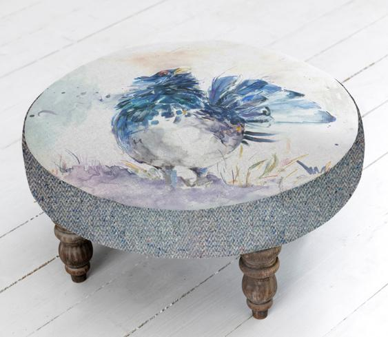 Footstools & Ottomans - Capercaille Cato Footstool