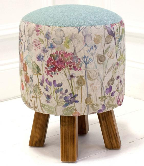 Footstools & Ottomans - Hedgerow Linen Monty Stool