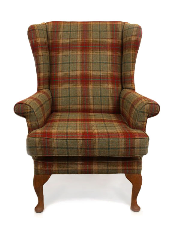 chairs just fabrics wingback chair