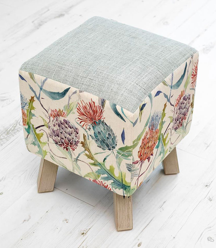 Footstools & Ottomans - Meadwell Toby Footstool