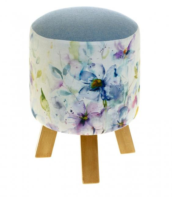 Footstools & Ottomans - Periwinkle Monty
