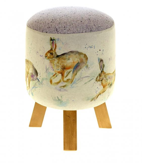 Footstools & Ottomans - Hurtling Hares Monty Footstool