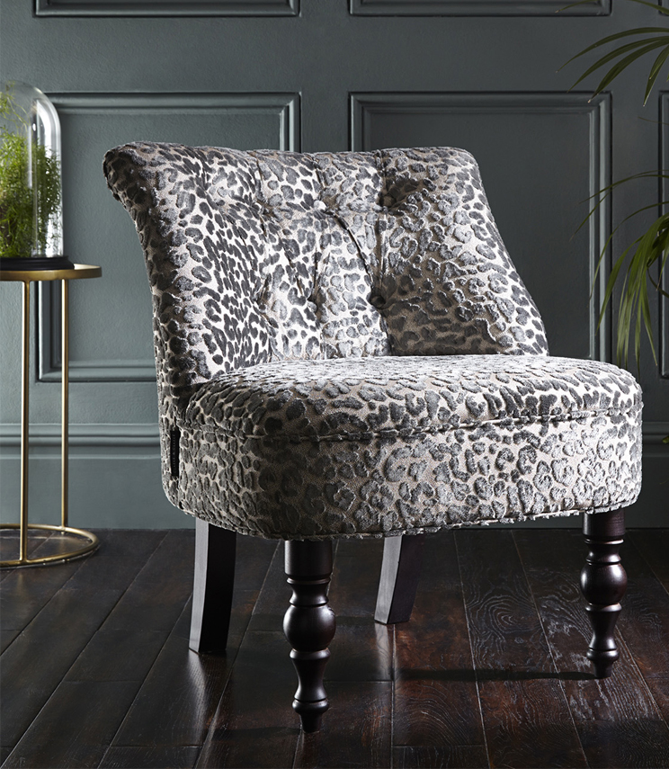 Statement Chairs - Odette Leopold Pewter