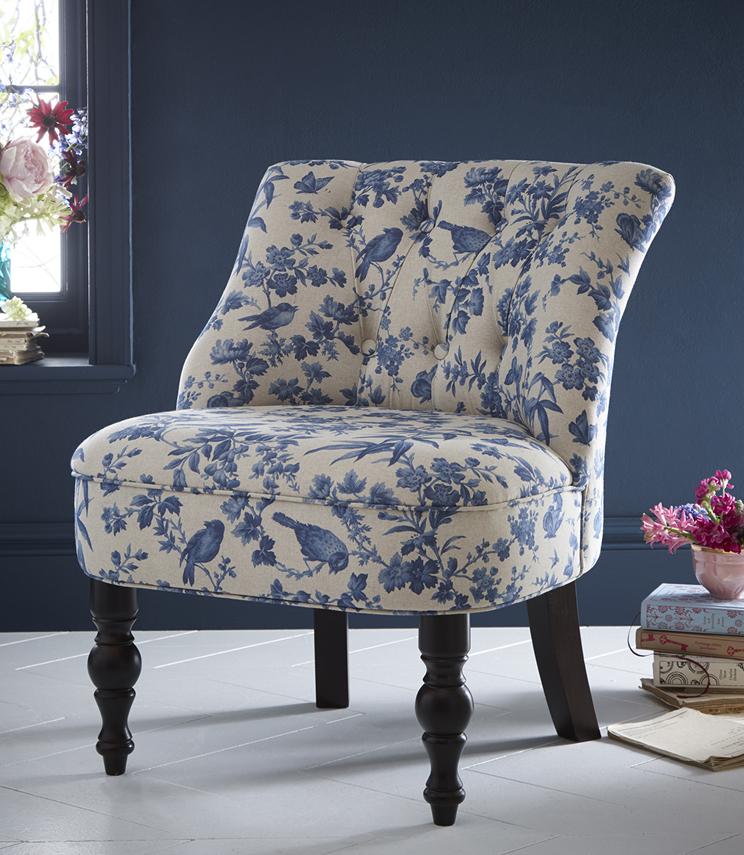 Odette Amelia Blue Just Fabrics