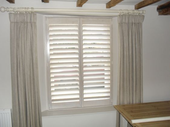 Modern window treatments valance - Shutters With Curtains Memes