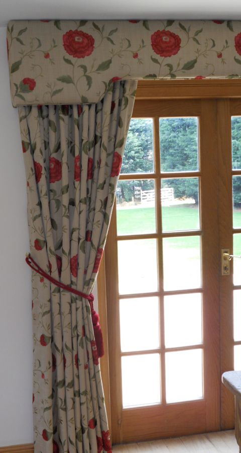 Red Floral Curtains Gallery Just Fabrics