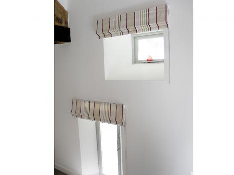 Striped Roman Blinds Gallery Just Fabrics
