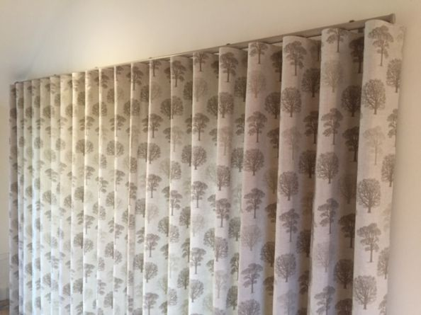 Wave Headed Curtains