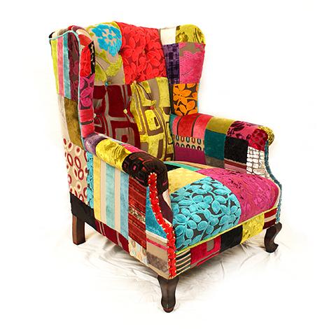 Attirant Patchwork Furniture