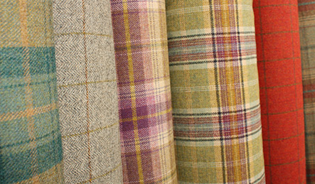 Huge Selection of Wool Tartan Fabrics