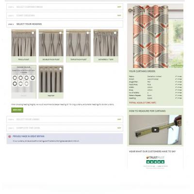 Made to Measure Curtains & Blinds - Create your own product