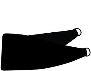 Barley Finch Toile Fabric Tieback
