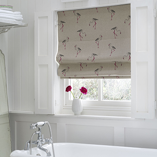 Beautiful handmade Roman Blinds