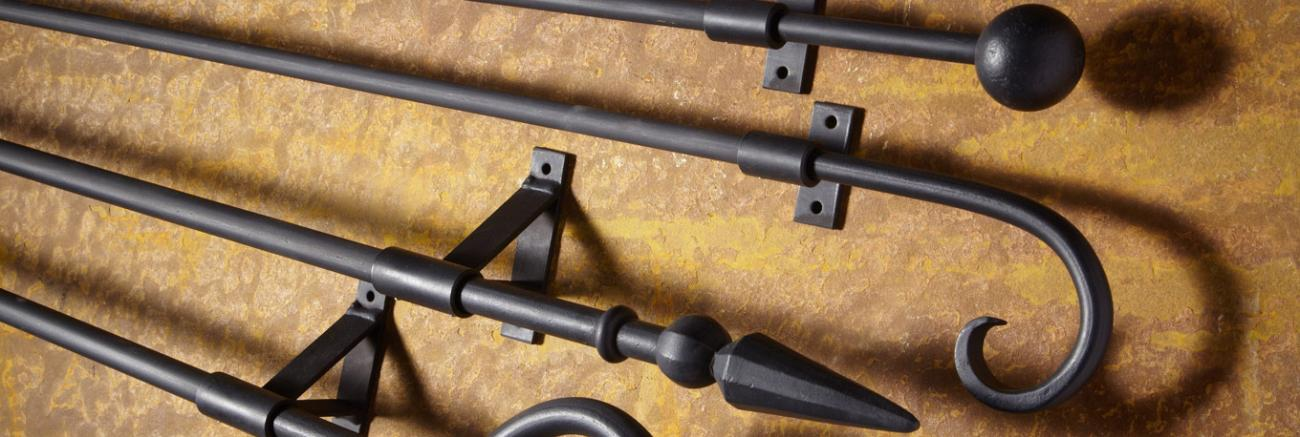 Wrought Iron Poles