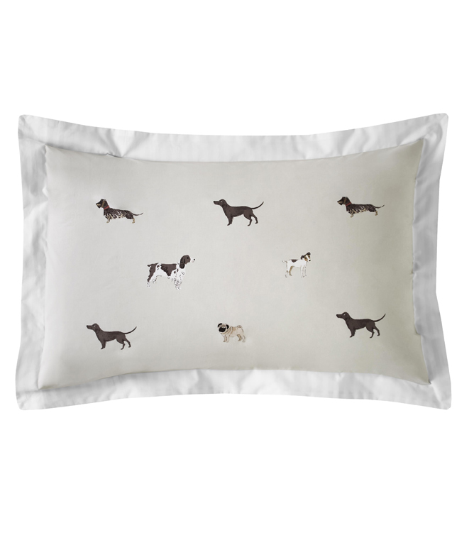 Woof pair of pillowcases