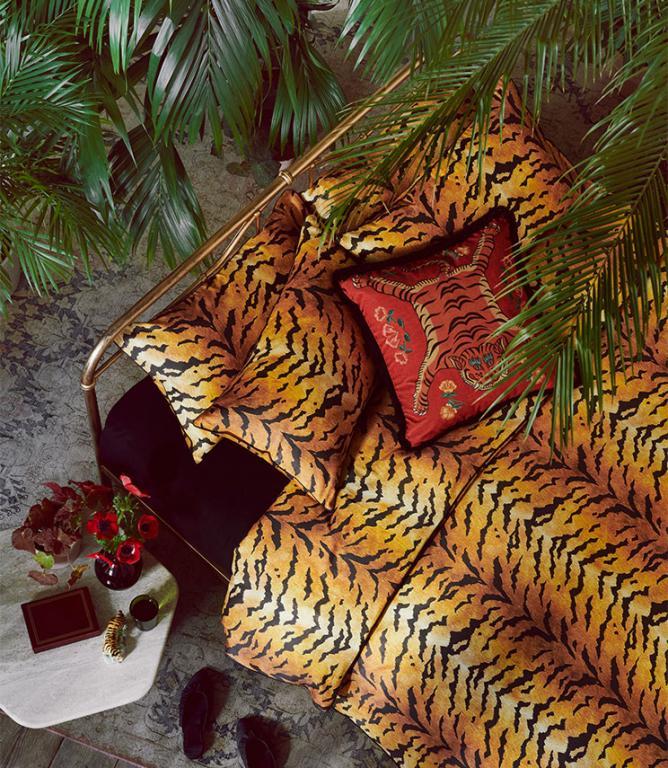 Tiger Gold Bedding Set